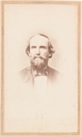 Photography:Studio Portraits, [Texas Rangers] and [Civil War]. Benjamin McCulloch Carte deVisite, circa 1862....