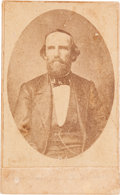 Photography:Studio Portraits, [Texas Rangers] and [Civil War]. Benjamin McCulloch Carte de Visite, circa 1862....
