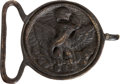 Militaria:Ephemera, [Mexican War]. Mexican Soldier's Belt Buckle....