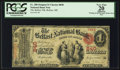 National Bank Notes:Maine, Belfast, ME - $1 Original Fr. 380 The Belfast NB Ch. # 840. ...