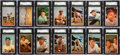 Baseball Cards:Sets, 1953 Bowman Color Baseball Near Set (152/160). ...