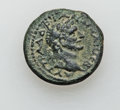 Ancients:Roman Provincial , Ancients: GALILEE. Tiberias. Hadrian (AD 117-138). Æ 22mm (9.50gm)....