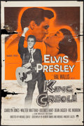 "Movie Posters:Elvis Presley, King Creole (Paramount, 1958). One Sheet (27"" X 41""). ElvisPresley.. ..."