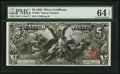 Large Size:Silver Certificates, Fr. 268 $5 1896 Silver Certificate PMG Choice Uncirculated 64 EPQ.....