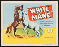 """White Mane & Others Lot (United Artists, 1954). Half Sheets (3) (22"""" X 28""""). Family. ... (Total: 3 Items)"""