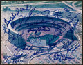 Baseball Collectibles:Photos, 1969 and 1986 New York Mets Multi Signed Photograph....