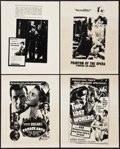 "Movie Posters:Academy Award Winners, Casablanca & Others Lot (1970s). Locally Produced Mini Posters(41) (14"" X 17""). Academy Award Winners.. ... (Total: 41 Items)"