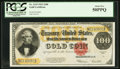 Large Size:Gold Certificates, Fr. 1215 $100 1922 Gold Certificate PCGS About New 50PPQ.. ...