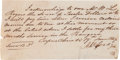 Autographs:Military Figures, [Texas Rangers]. A. W. Cady Promissory Note Signed....