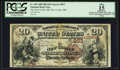 National Bank Notes:Maine, New Castle, ME - $20 1882 Brown Back Fr. 494 The New Castle NB Ch.# 953. ...
