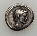 Ancients:Roman Republic, Ancients: Mark Antony as Triumvir (43-33 BC). AR denarius (3.82gm)....