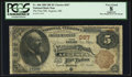 National Bank Notes:Maine, Augusta, ME - $5 1882 Brown Back Fr. 466 The First NB Ch. # 367....