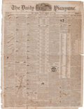 Miscellaneous:Newspaper, [Texas Rangers]. The Daily Picayune (New Orleans), July 7,1846....