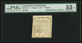 Colonial Notes:Connecticut, Connecticut October 11, 1777 3d PMG About Uncirculated 55 EPQ, CC.....