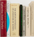 Books:Books about Books, [Women in Literature]. Various Authors. Group of Seven. Various publishers. A collection of titles about or by female author... (Total: 7 Items)