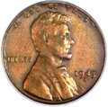 Lincoln Cents, 1943-S 1C -- Struck on a Bronze Planchet -- VF35 PCGS....