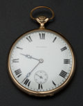 Timepieces:Pocket (post 1900), Howard 14k Gold 23 Jewel Pocket Watch. ...