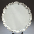 Silver Holloware, American, A TIFFANY & CO. SILVER CIRCULAR SHAPED TRAY. Tiffany & Co.,New York, New York, designed circa 1950. Marks: TIFFANY &CO, ...