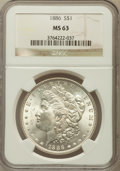 Morgan Dollars: , 1886 $1 MS63 NGC. NGC Census: (31301/76607). PCGS Population(34761/57277). Mintage: 19,963,886. Numismedia Wsl. Price for ...