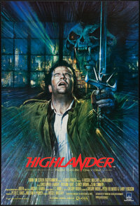 "Highlander (20th Century Fox, 1986). British One Sheet (27"" X 40""). Fantasy"