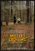 """Movie Posters:Crime, Miller's Crossing (20th Century Fox, 1990). One Sheet (27"""" X 40""""). SS Advance. Crime.. ..."""