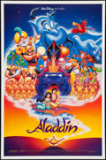 """Movie Posters:Animation, Aladdin & Other Lot (Buena Vista, 1992). One Sheets (2) (27"""" X 40"""", 27"""" X 41""""). Animation.. ... (Total: 2 Items)"""