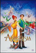 "Movie Posters:Animation, Anastasia & Other Lot (20th Century Fox, 1997). One Sheets (3) (27"" X 40"") DS Advance Style B & C & Regular. Animation.. ... (Total: 3 Items)"