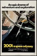 """Movie Posters:Science Fiction, 2001: A Space Odyssey (MGM, R-1980). One Sheet (27"""" X 41""""). ScienceFiction.. ..."""