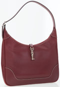 Luxury Accessories:Accessories, Hermes 31cm Rouge H Epsom Leather Trim Bag with Palladium Hardware....
