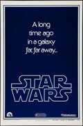 "Movie Posters:Science Fiction, Star Wars (20th Century Fox, 1977). One Sheet (27"" X 41""). AdvanceB Style. Science Fiction.. ..."