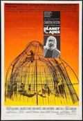 "Movie Posters:Science Fiction, Planet of the Apes (20th Century Fox, 1968). Trimmed One Sheet (27""X 40""). Science Fiction.. ..."