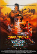 "Movie Posters:Science Fiction, Star Trek II: The Wrath of Khan (Paramount, 1982). British OneSheet (27"" X 40""). Science Fiction.. ..."