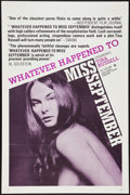 """Movie Posters:Adult, Whatever Happened to Miss September? (808 Pictures, 1973). One Sheet (27"""" X 41""""). Adult.. ..."""