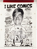 Original Comic Art:Covers, Peter Bagge I Like Comics Vol. 1 Cover Original Art(Makeshift Media, 1993)....