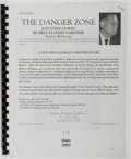 Books:Mystery & Detective Fiction, Erle Stanley Gardner. The Danger Zone and Other Stories.Norfolk, VA: Crippen & Landru, 2003. Spiral binding. Adva...