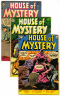 Golden Age (1938-1955):Horror, House of Mystery Group (DC, 1952-64) Condition: Average GD+....(Total: 15 Comic Books)