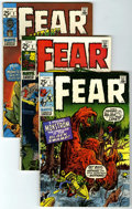 Bronze Age (1970-1979):Horror, Fear Group (Marvel, 1970-75) Condition: Average FN+.... (Total: 25Comic Books)