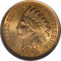 Indian Cents, 1895 1C MS66 Red PCGS....