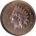 Proof Indian Cents, 1875 1C PR64 Red and Brown Cameo NGC....