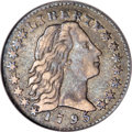 Early Half Dimes, 1795 H10C XF45 NGC....