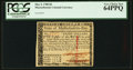 Colonial Notes:Massachusetts, Massachusetts May 5, 1780 $8 PCGS Very Choice New 64PPQ.. ...