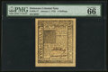 Colonial Notes:Delaware, Delaware January 1, 1776 5s PMG Gem Uncirculated 66 EPQ.. ...