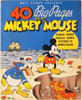 Platinum Age (1897-1937):Miscellaneous, 40 Big Pages of Mickey Mouse #945 (Whitman, 1936) Condition: VG....