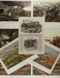 Art:Illustration Art - Mainstream, [Lithographs]. Group of Eight Currier & Ives RailroadChromolithographs. 15.5 x 11.5. Reprinted from Currier & Ives.Light t...