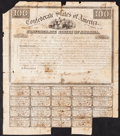 Confederate Notes:Group Lots, Ball 4 Cr. 6A $100 Bond 1861 Good.. ...