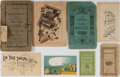 Books:Americana & American History, [Pamphlets]. Group of Eight Pamphlets and Ephemera. Variousauthors. Ca. 1870's. Light abrading to edges. Some toning. Good ...