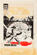 Original Comic Art:Covers, Al Avison (attributed) Joe Palooka Comics #113 CoverOriginal Art (Harvey, 1959)....