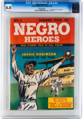 Golden Age (1938-1955):Non-Fiction, Negro Heroes #2 (Parents' Magazine Institute, 1948) CGC FN 6.0Off-white pages....