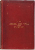 Books:Art & Architecture, J. A. Crowe. The Cicerone: An Art Guide to Painting in Italy. London: John Murray, 1879. Contemporary binding. Spine...