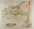 Miscellaneous:Maps, Frederick J. H. Merrill. Economic and Geologic Map of New York.Showing the Location of its Mineral Deposits. By...